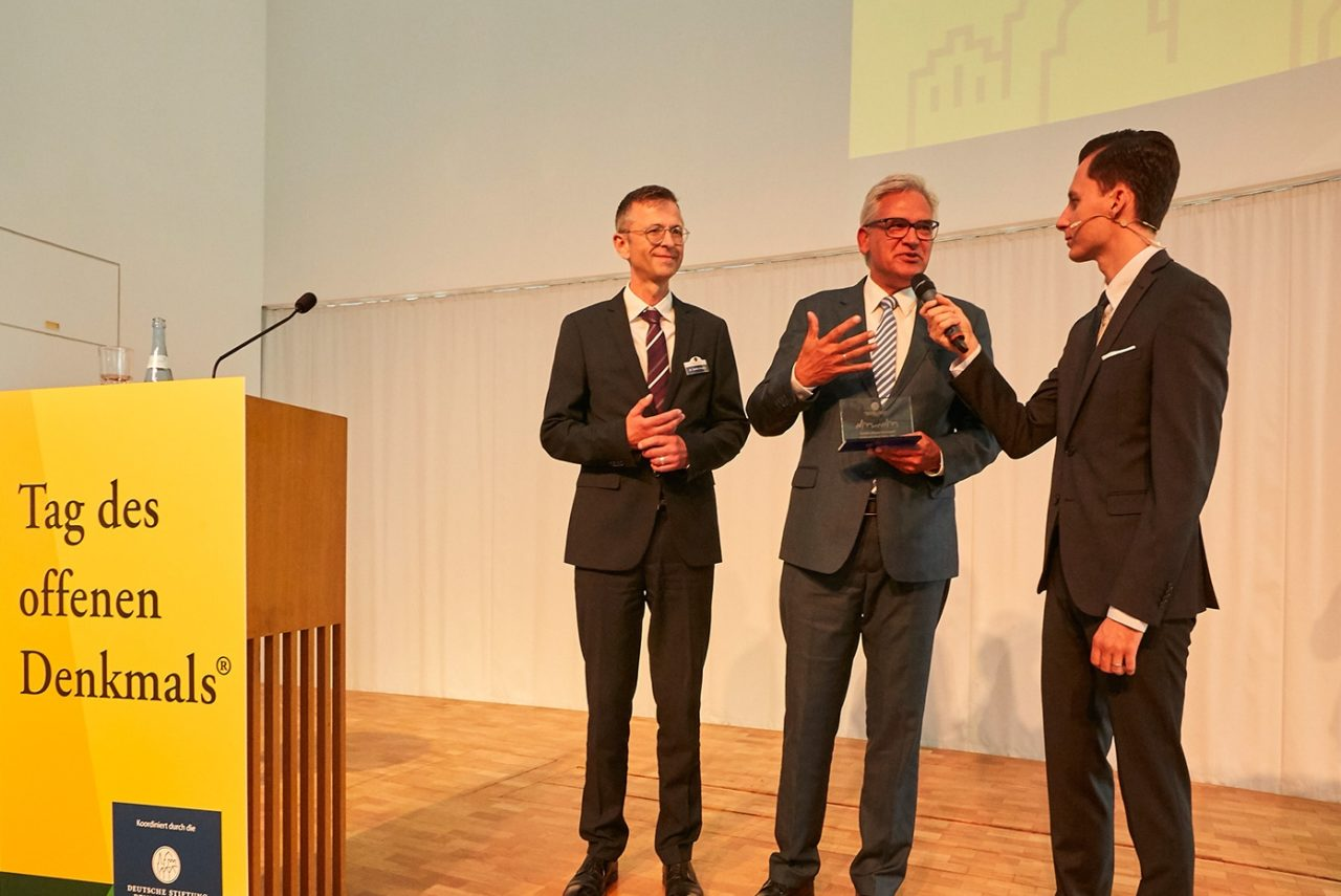 Awardübergabe an die Stadt Ulm © Roland Rossner