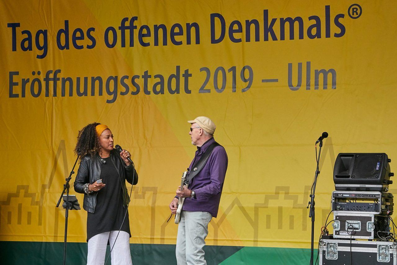 Auftritt von Siyou'n'Hell bei der bundesweiten Eröffnung in Ulm © Roland Rossner
