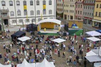 Ministerpräsident Dr. Reiner Haseloff eröffnete Deutschlands größtes Kulturevent